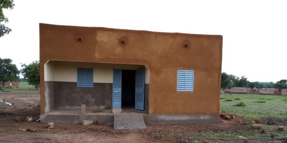 Le nouveau bâtiment d'accueil